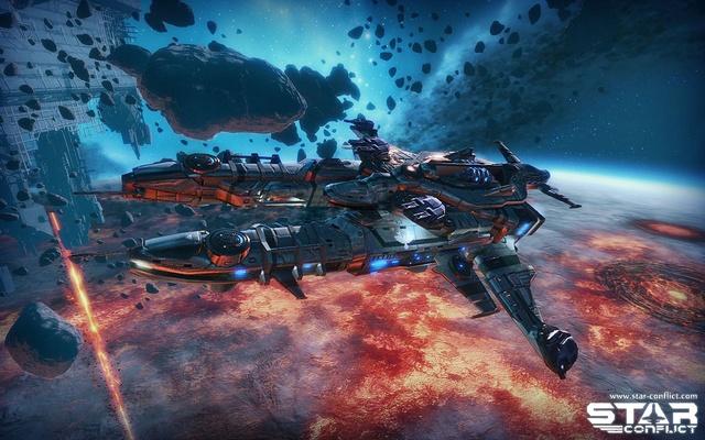 Star Conflict обзор - завантажити ігру онлайн, офі...