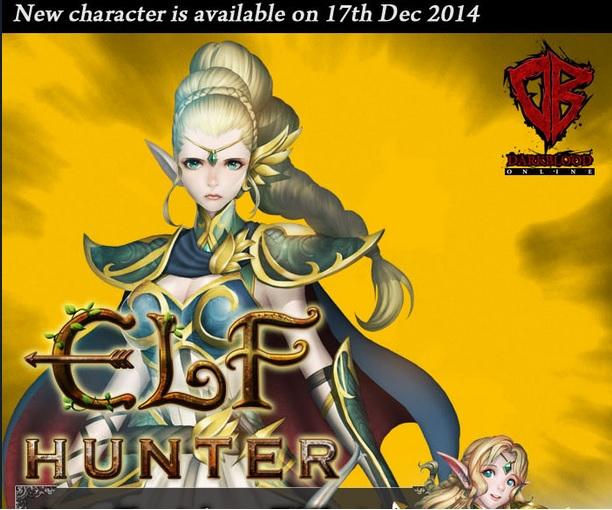 Зустрічаємо Elf Hunter в Dark Blood Online