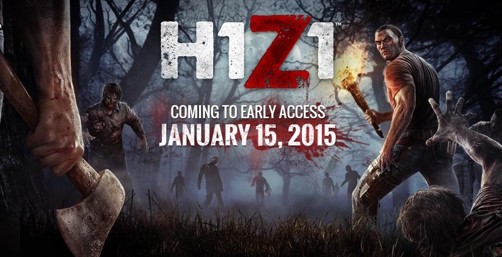 H1Z1 в січні познайомить всіх гравців з ігрою зомбі