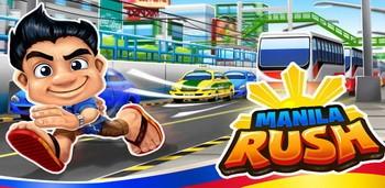Manila rush на Андроїд скачати безкоштовно. Ігра Біг через місто