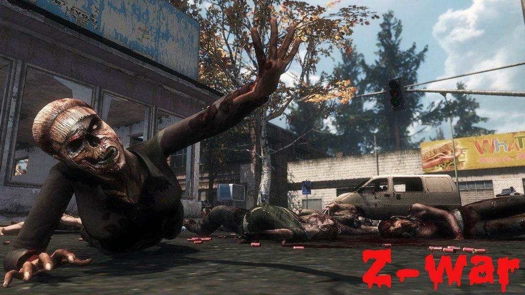 Z-WAR обзор браузерної RPG ігри про зомбі, реєстрація