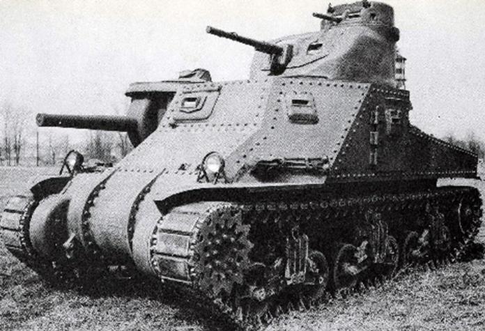 Красень танк M3 Lee буде одним з представників США в War Thunder