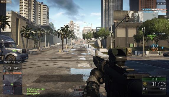 Другий відкритий бета тест ігри Battlefield: Hardline