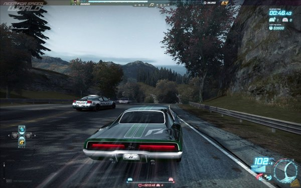 Need for Speed World перша безкоштовна онлайн гонк...